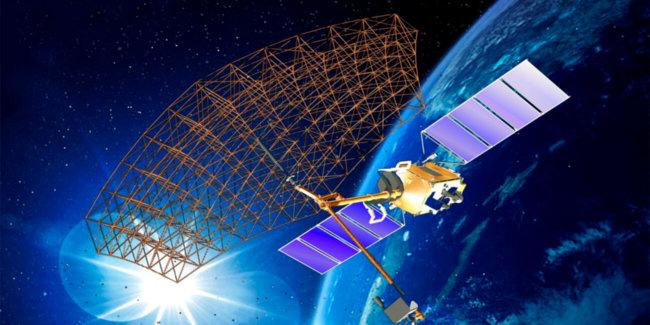 В России запущено производство космических антенн-трансформеров