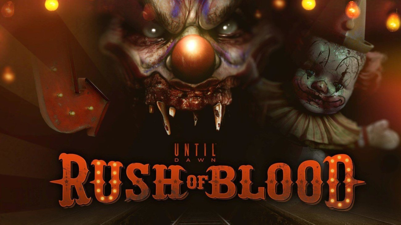 Обзор игры Until Dawn: Rush of Blood