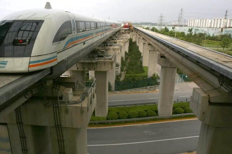 В Китае хотят построить маглев, способный развивать более 600 км/ч
