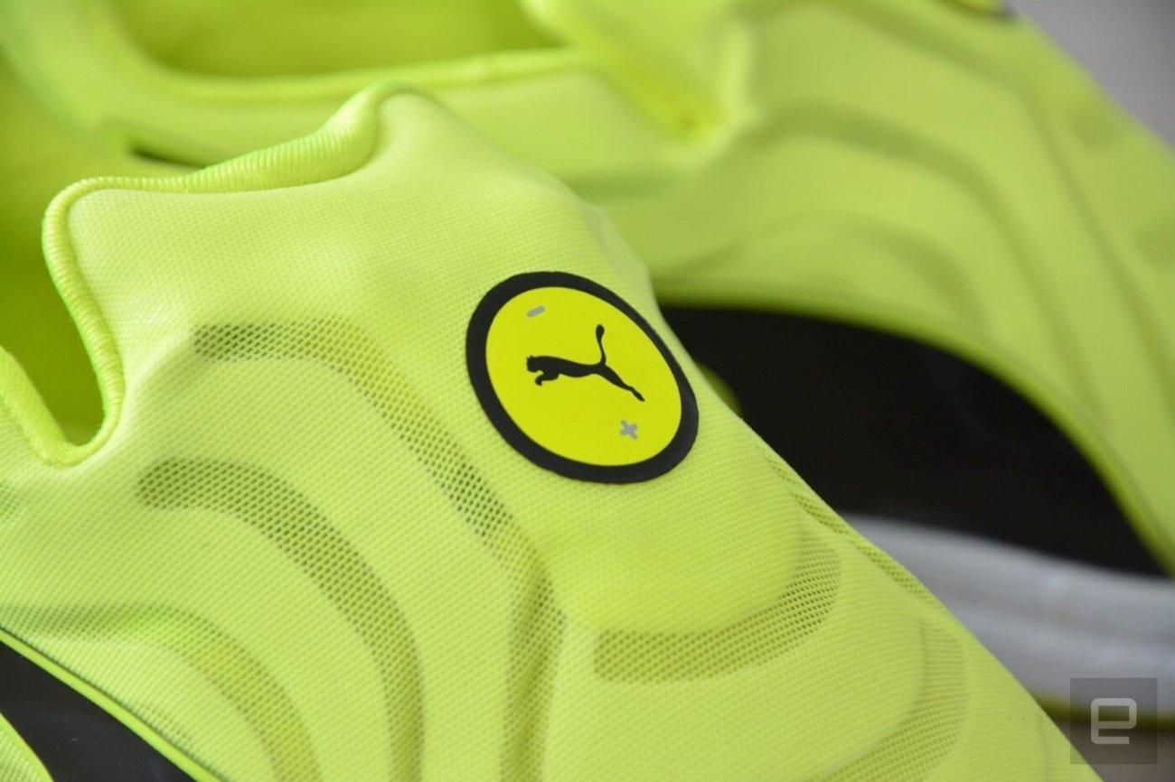 Компания Puma разработала самошнурующиеся кроссовки