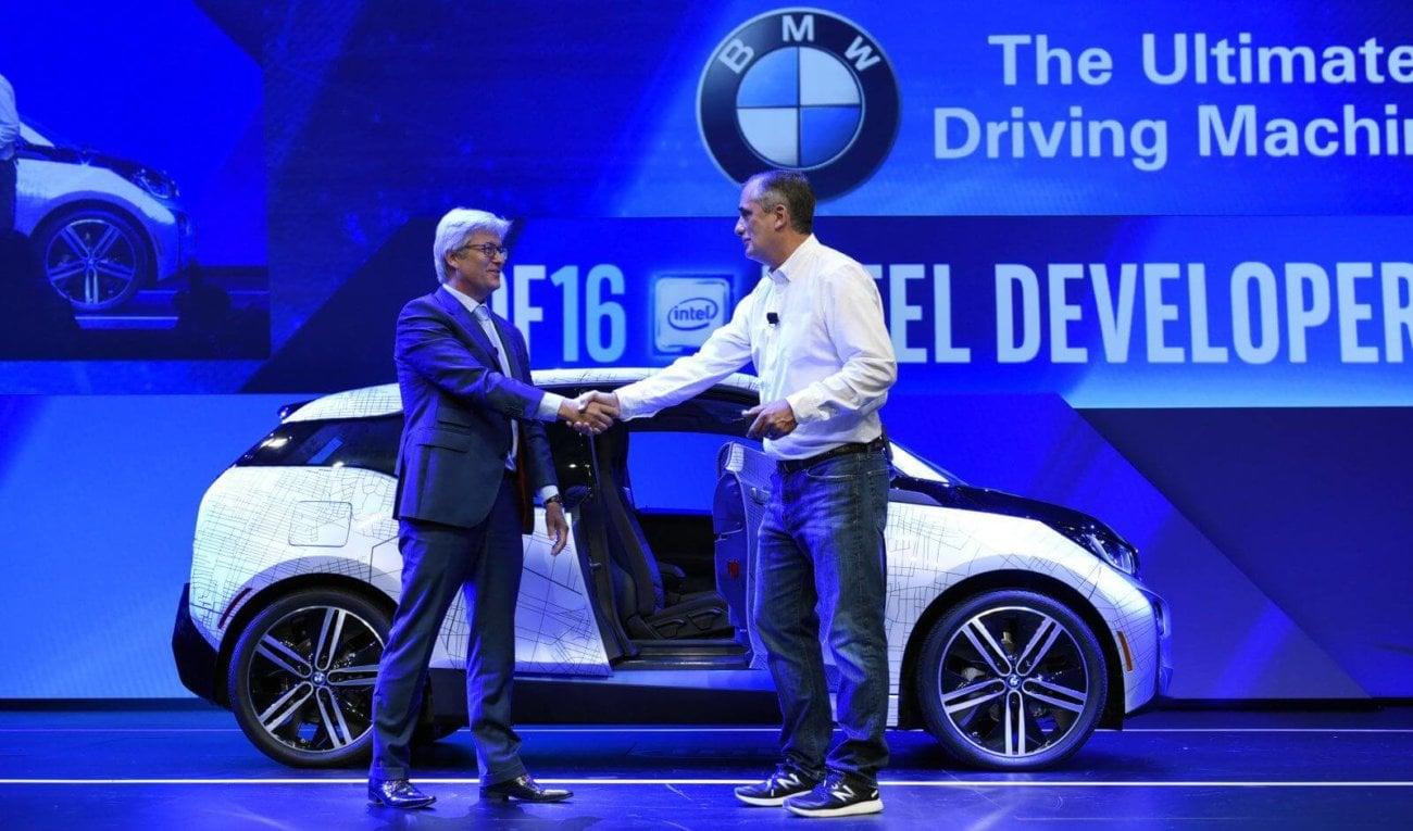 INTEL исследует беспилотные автомобили