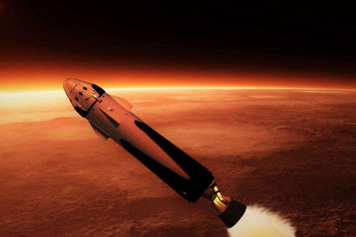 В SpaceX успешно испытали топливный бак готовящегося к полёту на Марс корабля