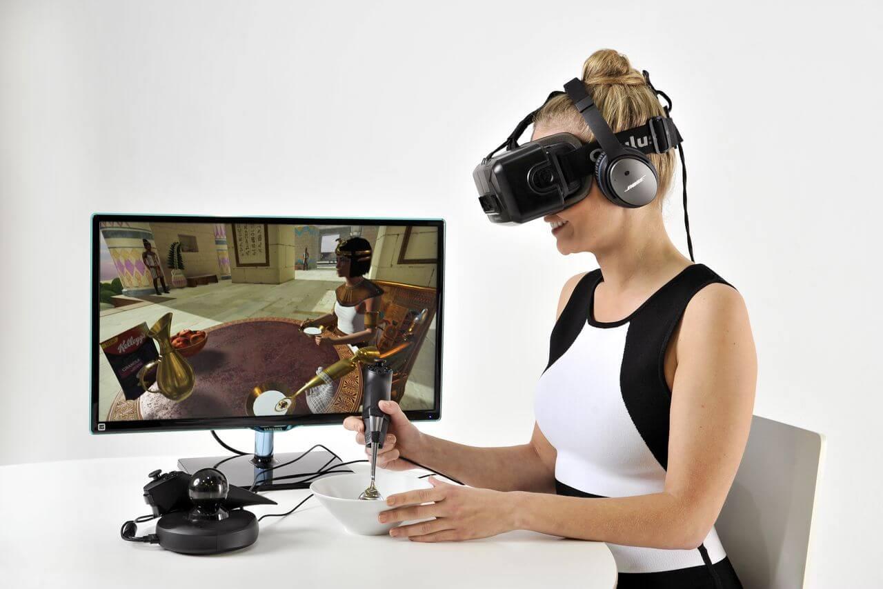 Разработана технология, позволяющая ощутить вкус виртуальных объектов