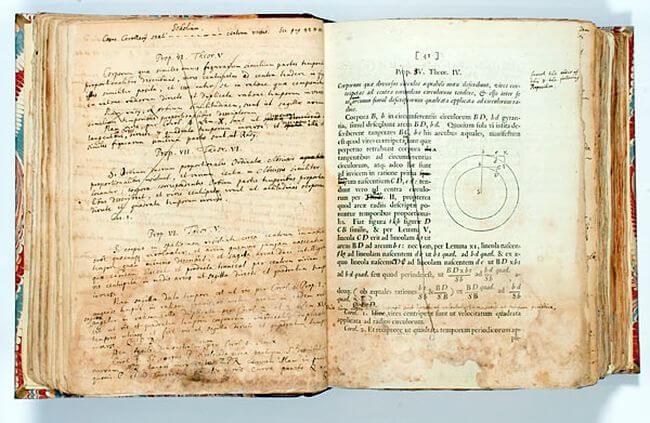 Книга Исаака Ньютона стала самым дорогим научным литературным произведением