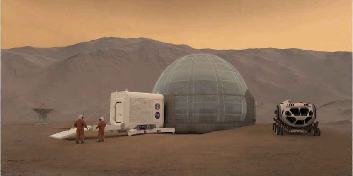 Колонизаторы Марса будут жить в иглу