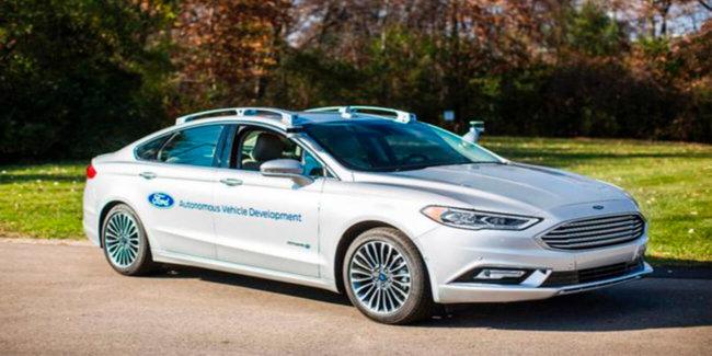 Беспилотные прототипы Ford заметно похорошели