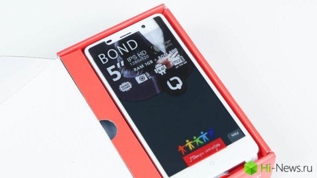 Бюджетник, который хотел стать флагманом: BQ-5022 Bond