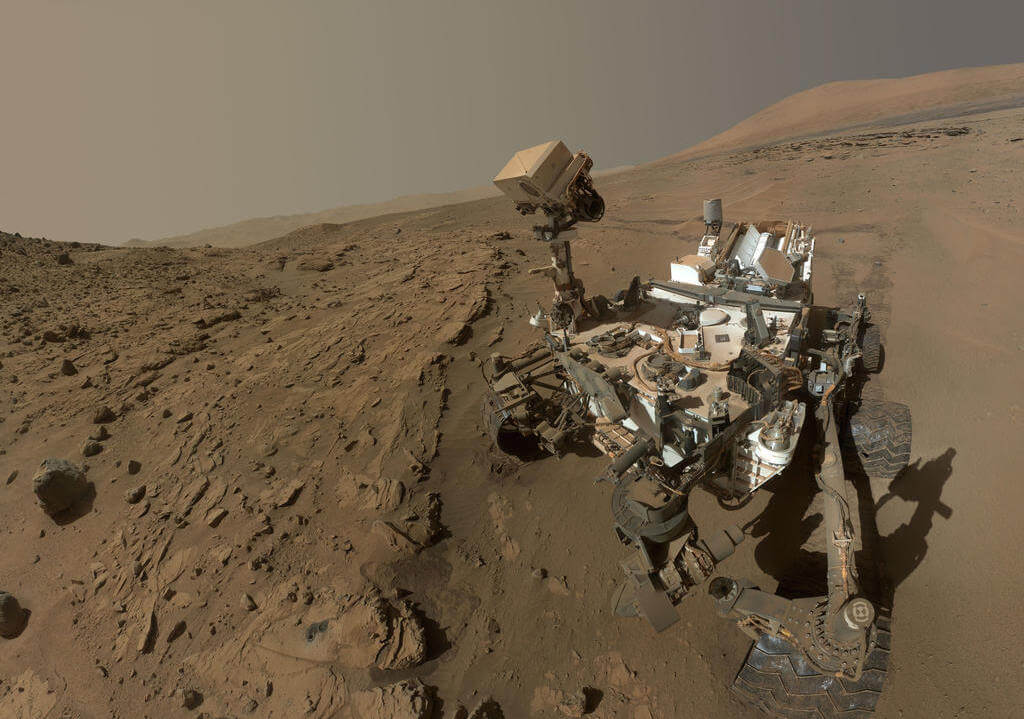 Марсоход бездействовал две недели