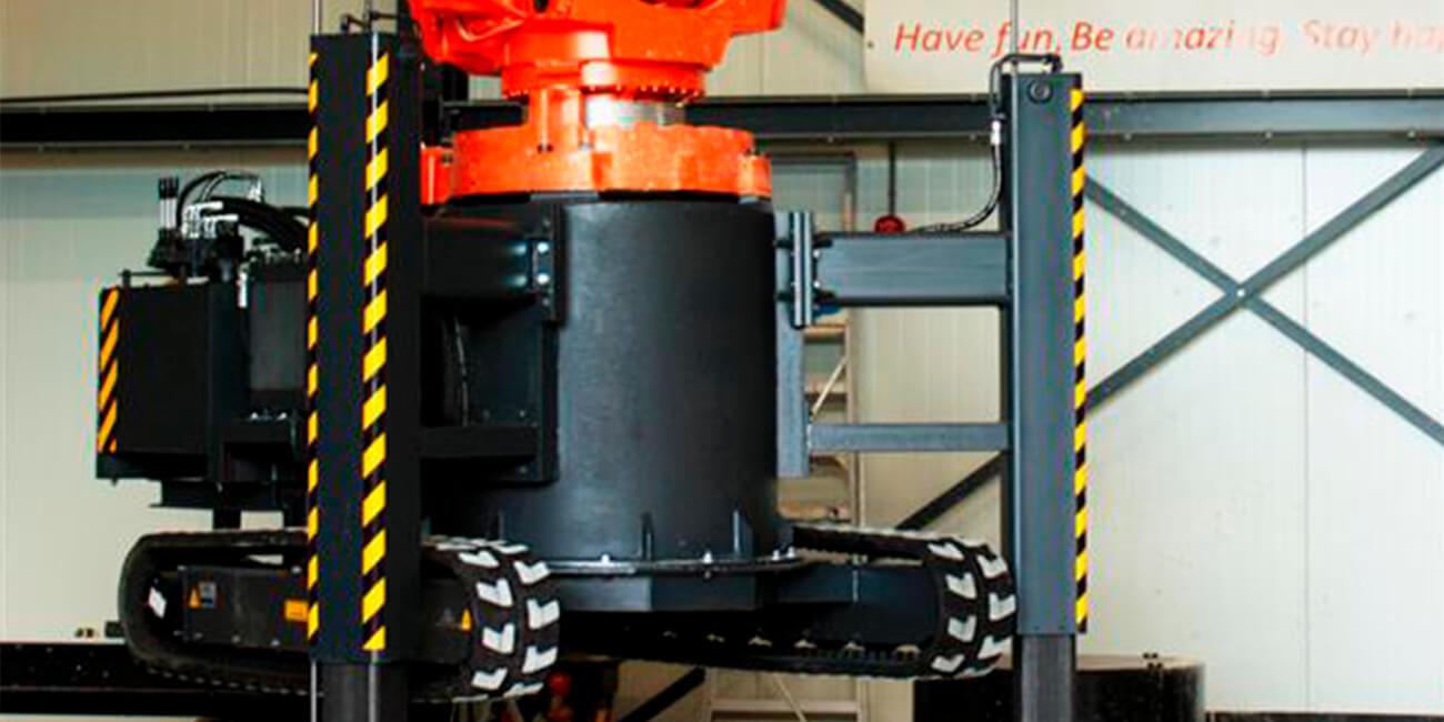 В Нидерландах начнут делать гусеничные 3D-принтеры для строителей