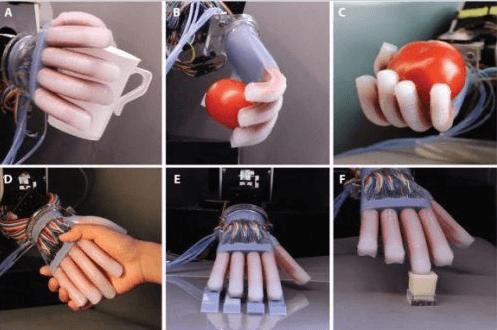 «Оптические нервы» дадут роботам чувство осязания (2 фото)