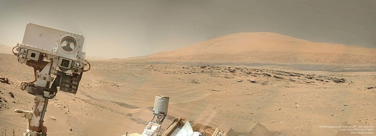 Марсоход «Кьюриосити» нашел новые доказательства возможной марсианской жизни