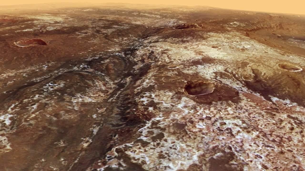 Виртуальная прогулка по руслу марсианской реки