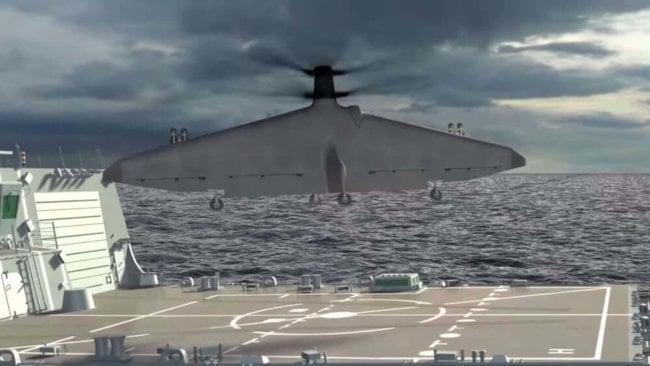 В 2018 году ВМС США продемонстрируют нам дрон с вертикальным взлётом