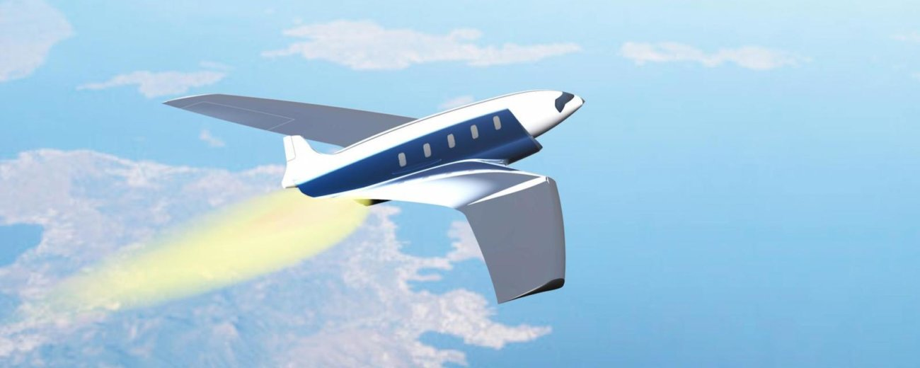 Как выглядит самолет, летящий более 20 тыс. км в час?