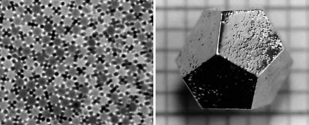 В метеорите найден квазикристалл