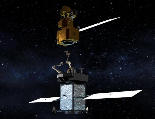 ВNASA планируют сделать аппарат поремонту изаправке спутников