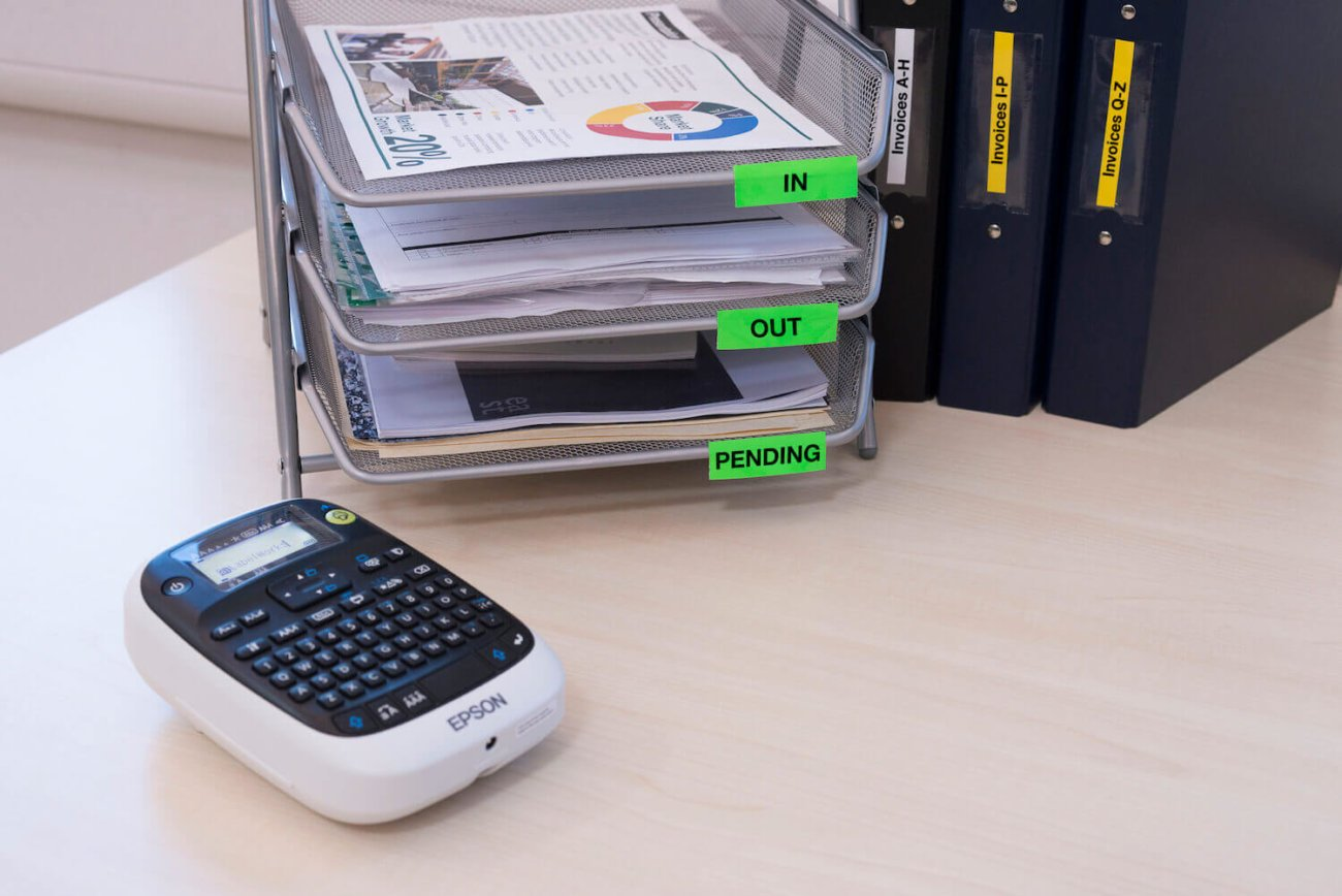 Соблюдаем порядок во всем с принтерами Epson LabelWorks!