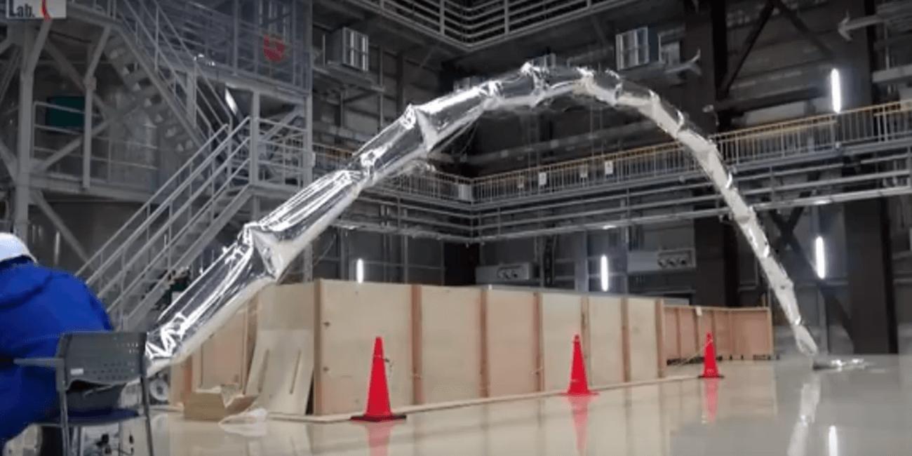 Японцы разработали роботизированный воздушный шар