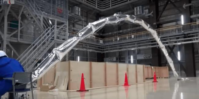 Японцы разработали роботизированный воздушный шар (+видео)