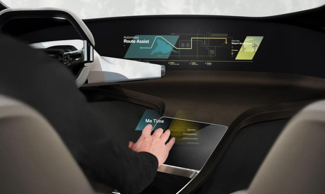 Автомобили BMW  обзаведутся интерфейсом