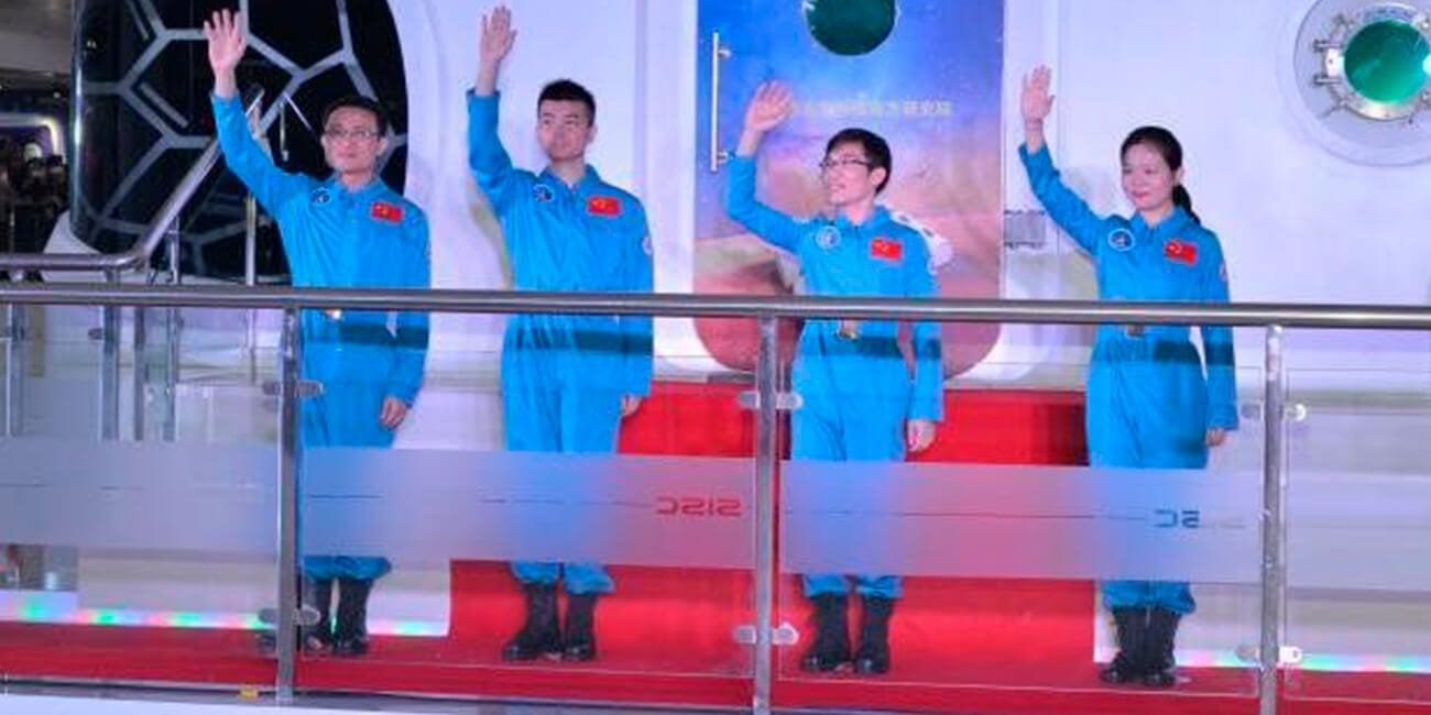 В Китае завершен эксперимент по эмитации полёта в космос