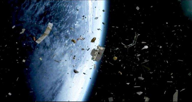 Роскосмос планирует очистить орбиту откосмического мусора