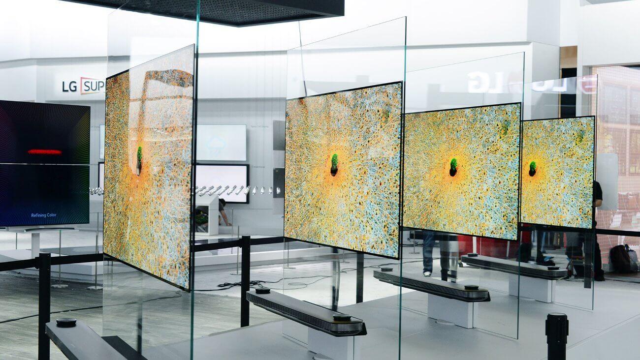 #CES   2,57-миллиметровый телевизор LG стоит почти 20 тысяч долларов