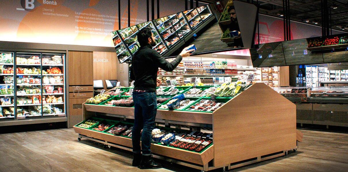 Камеру Kinect устроили на работу в супермаркет