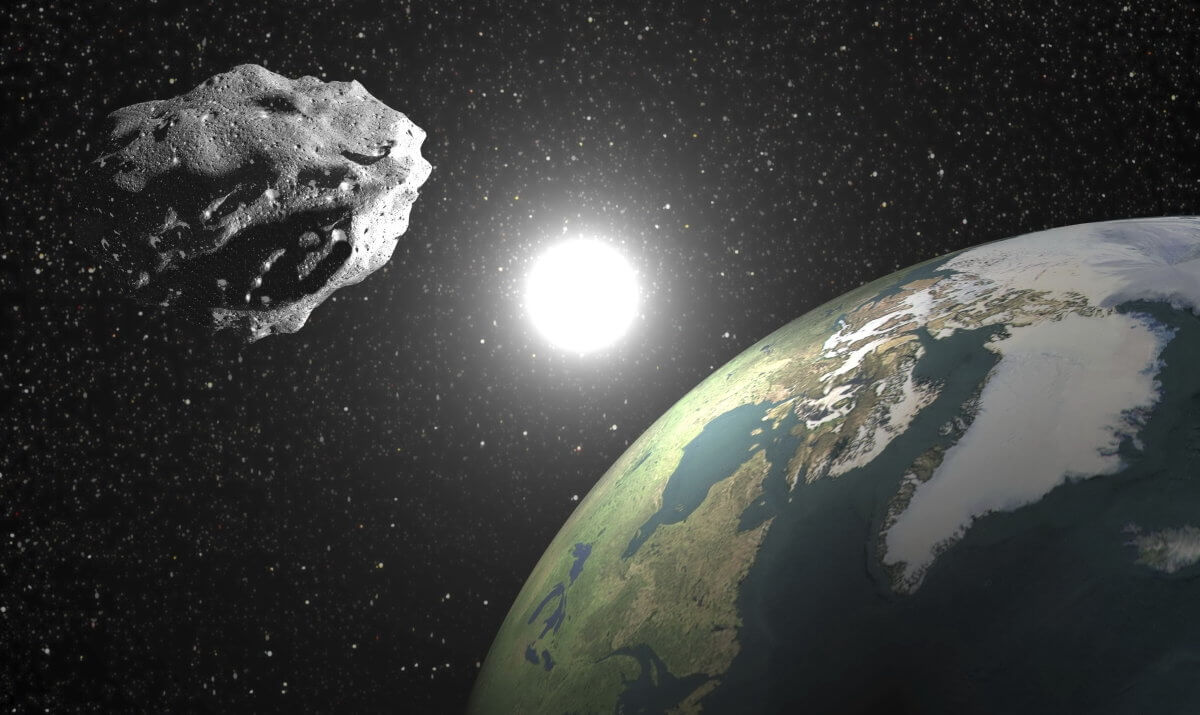 Сегодня мимо Земли пролетел астероид 2017 BX