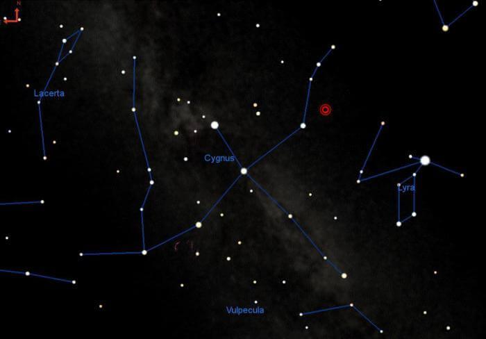 В 2022 году ночное небо может озариться светом красной сверхновой (3 фото)