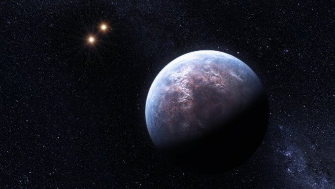 Астрономы ищут признаки жизни на экзопланете Wolf 1061