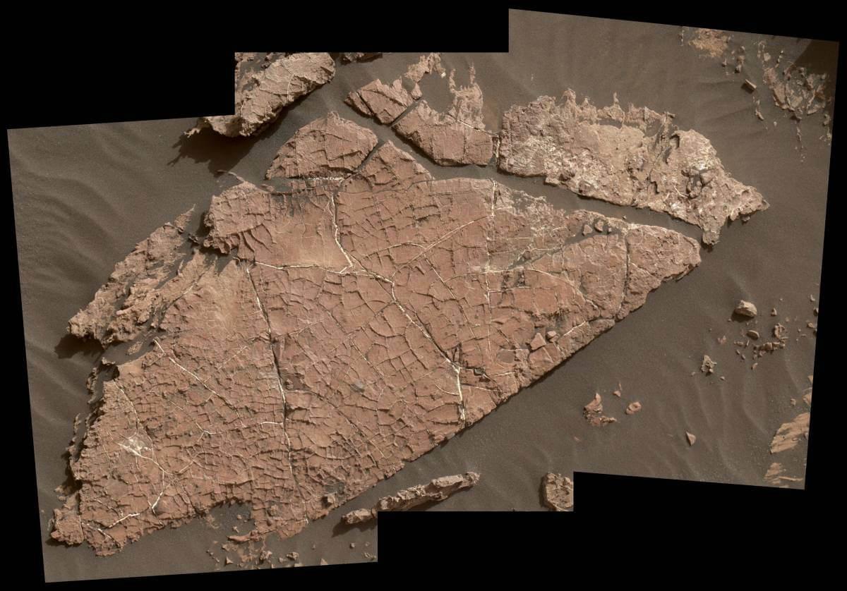Следы грязи наМарсе сообщают о наличии воды впрошлом