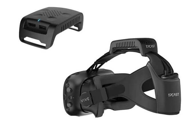 HTC Vive and TPCast