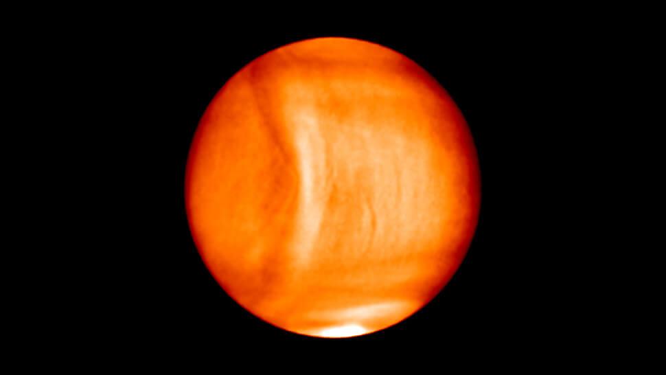 Учёные заметили наВенере огромную гравитационную волну
