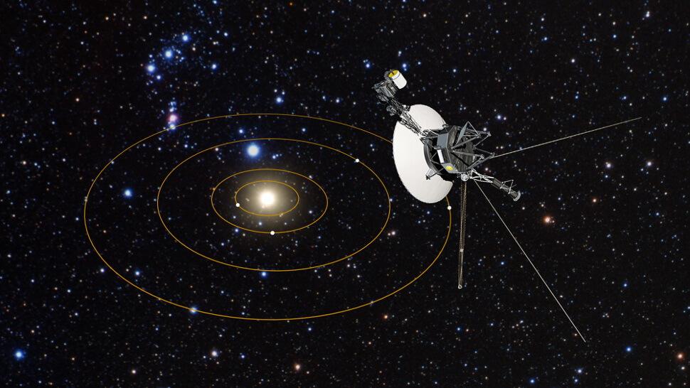 Космический телескоп «Хаббл» показал, что ожидает зонды «Вояджеры» (3 фото)
