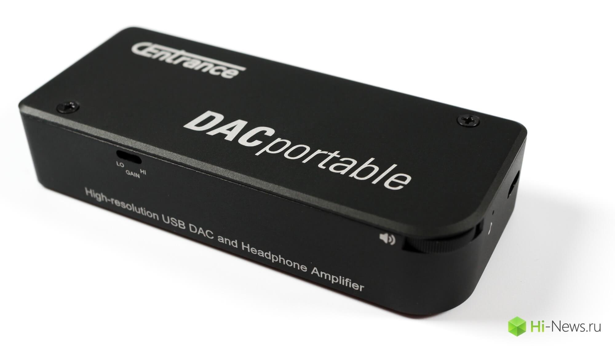 Обзор портативного ЦАП с усилителем для наушников CEnrance DACPortable