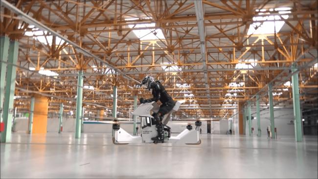 Российские разработчики из Hoversurf протестировали универсальную летательную платформу