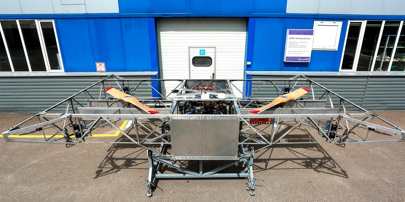 В Казани начнут производить российские грузовые дроны