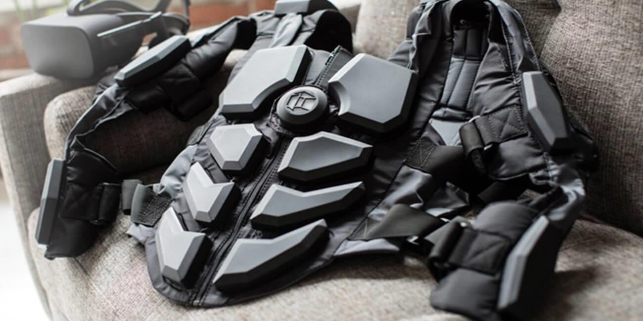 Стартап NullSpace VR представил тактильный костюм для виртуальной реальности