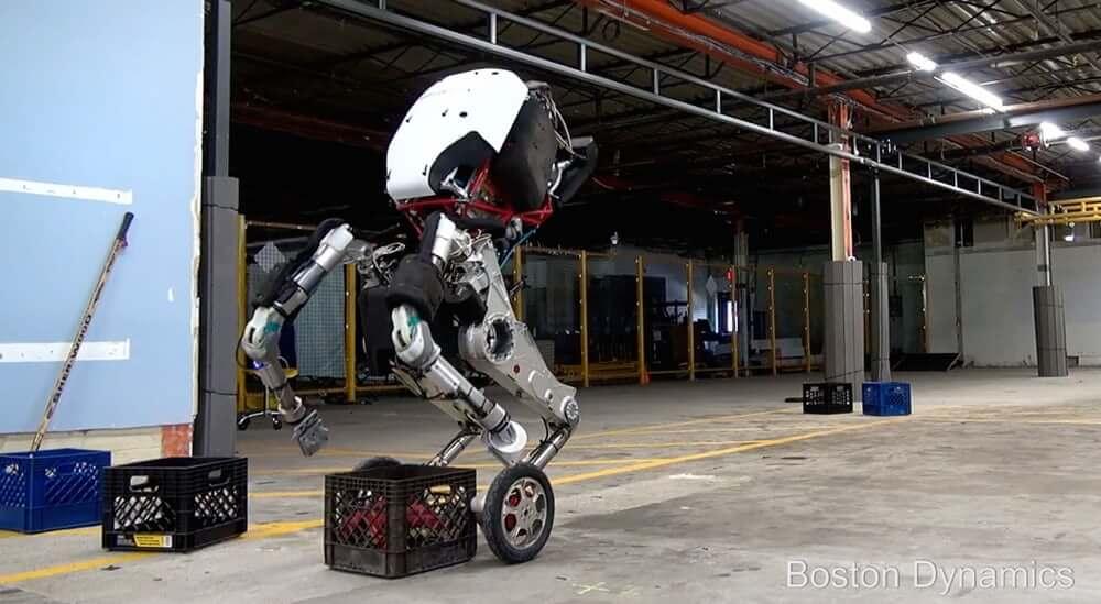 Компания Boston Dynamics официально представила робота Handle