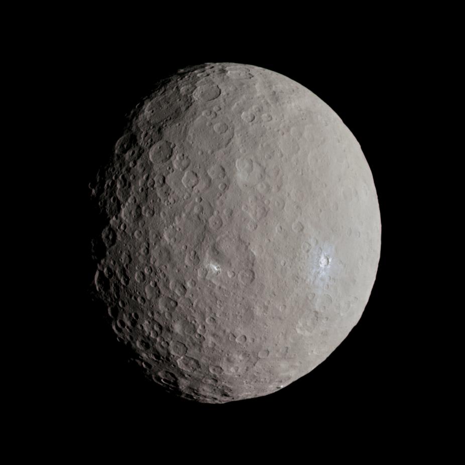 На миниатюрной планете Церере ученые обнаружили «ингредиенты жизни»