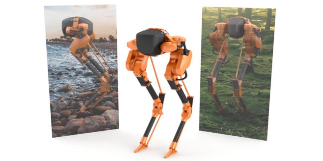 В университете штата Орегон сделали робота-ходуна (+видео)