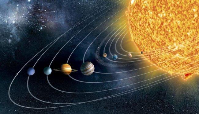 фото солнечная система из космоса