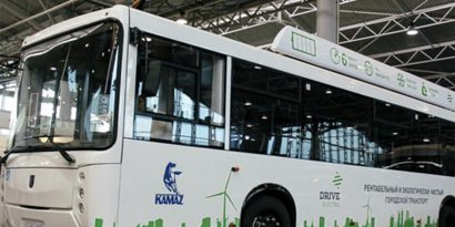 Новый электробус КАМАЗ заряжается за 15 минут