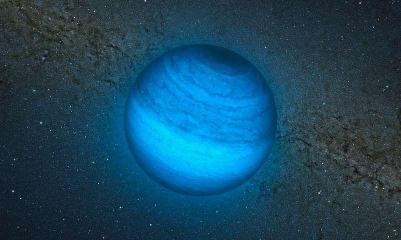 Астрономы нашли одинокий планетообразный объект неизвестной природы