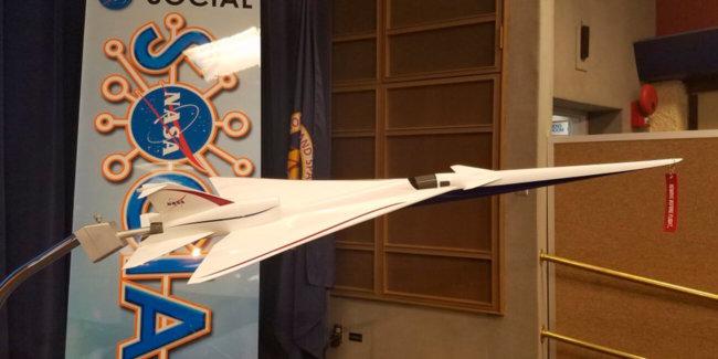 NASA начало тестирования нового сверхзвукового пассажирского Concorde