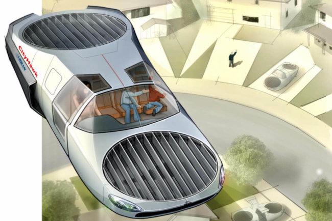 CityHawk — пассажирский вариант летательного аппарата Cormorant для городских перевозок (4 фото)