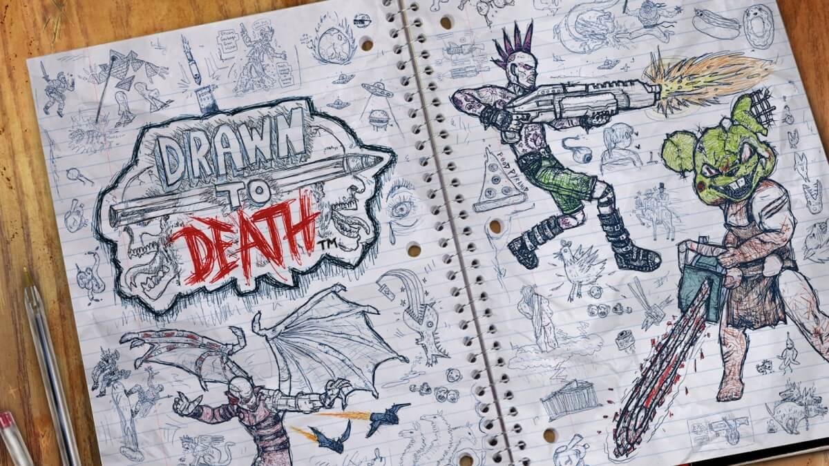 Обзор игры Drawn to Death: развлечение для хулиганов