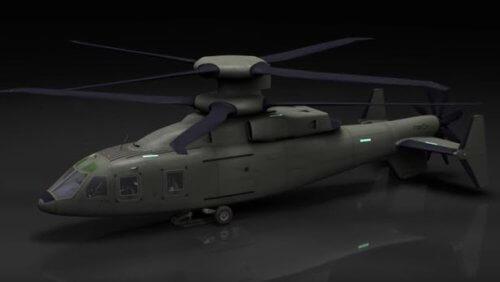 Lockheed Martin раскрыла детали боевого вертолета, создаваемого на базе Sikorsky X2 (2 фото + видео)
