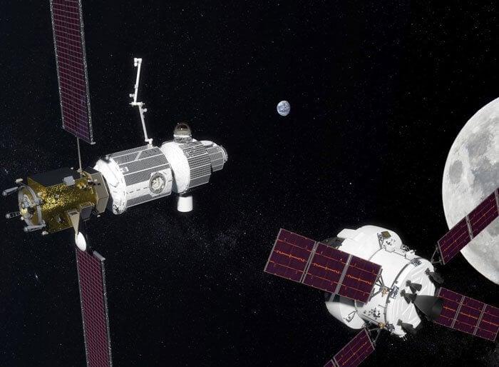 NASA: Мы построим орбитальную лунную станцию к 2030-му (3 фото)